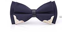 Галстук-бабочка синий, Краватка-метелик синій