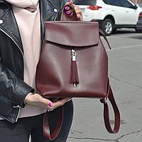 """Современный рюкзак-сумка (трансформер) """"Моби Red Wine"""", производство Украина, фото 1"""