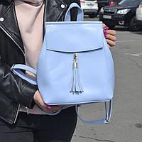 """Современный рюкзак-сумка (трансформер) """"Моби Light Blue"""", производство Украина, фото 1"""