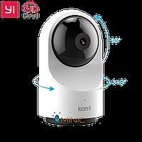 YI 1080p Dome Camera X (YI Kami Indoor) поворотная домашняя камера 2.4/5 Gz с записью в облако, фото 1
