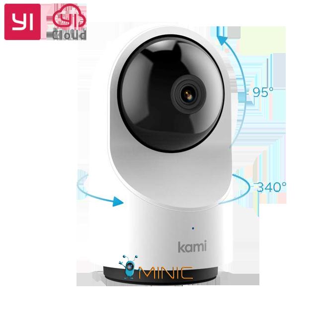 YI 1080p Dome Camera X (YI Kami Indoor) поворотная домашняя камера 2.4/5 Gz с записью в облако