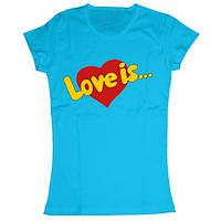 Парные футболки Love is...