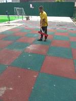 Покрытие для спортивных площадок 1000х1000 мм . Толщина 20 мм, фото 1