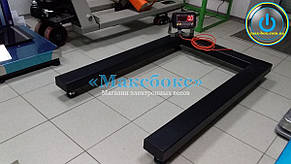 Весы паллетные для взвешивания поддонов до 2 тонн – РС 2000-П