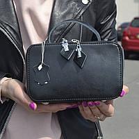 """Женская кожаная сумка """"Фемида Black """", фото 1"""