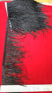 Перо страуса (10м)черный