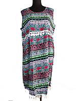 Платье летнее с бахромой без рукавов C0242, фото 1