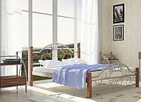 Кровать Франческа на деревянных ножках, фото 1
