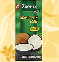 Молоко кокосове, Aroy-D, 60%, 1л, Індонезія, АФ