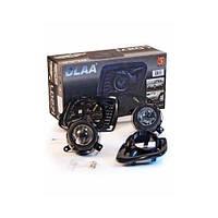 Фары доп.модель LADA/Калина1117/ DLAA LD-271B-W Black