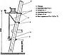 Комплект крепления для РЛНД (Вал 5 м)