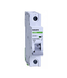 Автоматический выключатель Noark 6кА х-ка C 50А 1P Ex9BN 100103