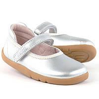 Bobux.Дитячі шкіряні балетки -туфлі.Взуття для дівчинки. Оригінал.Розмір - 24