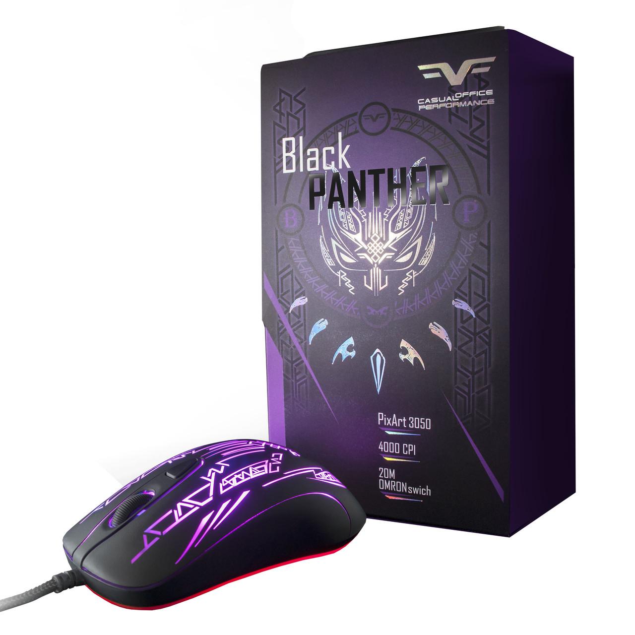 Мышь Frime Black Panther .