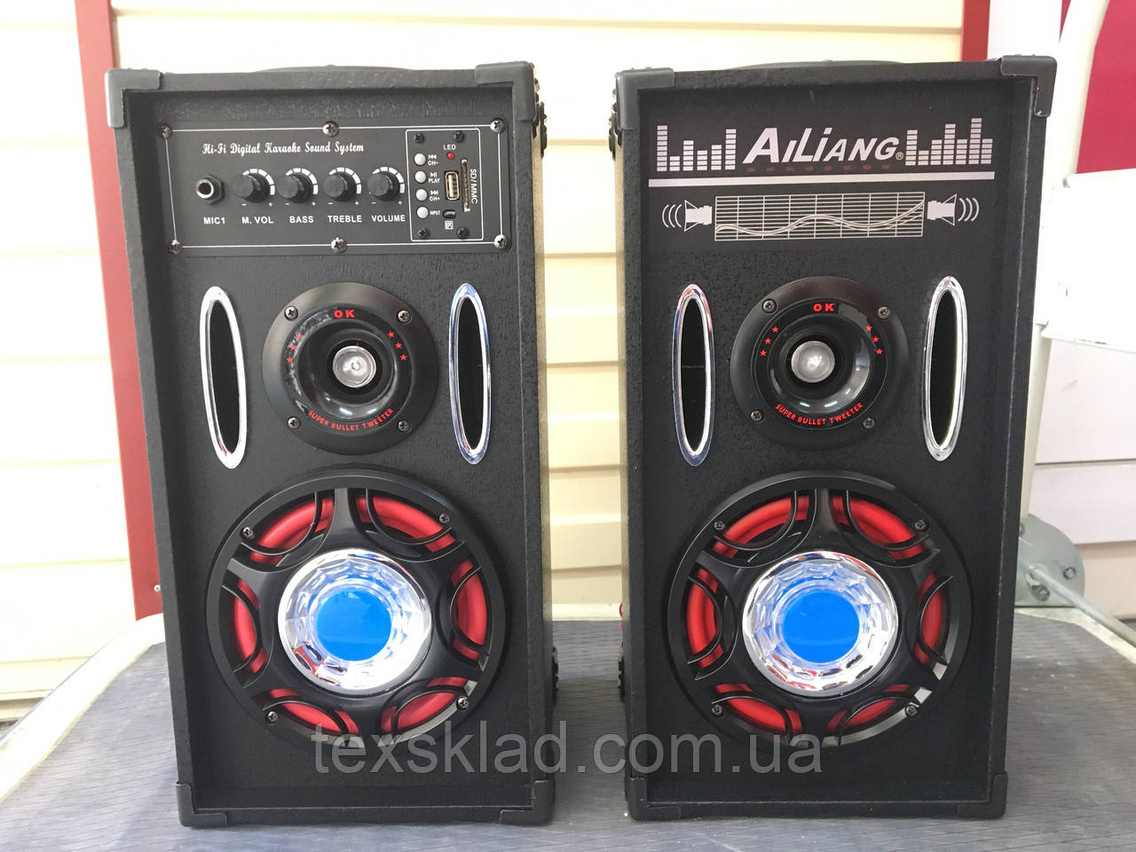 Колонки USBFM-605K-DT (USB/FM/Bluetooth/Радио)