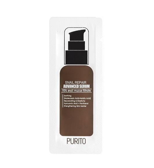 Purito Snail Repair Advanced Serum Cыворотка с 93% улиточного муцина