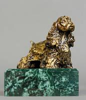 Статуэтка из металла Собака
