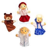 Перчаточные куклы. Набор к сказке «Маша и медведь»