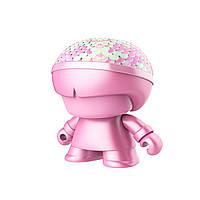 Акустика колонка XOOPAR - Mini XBOY (7,5 cm, розовая с пайетками металлик, Bluetooth) (XBOY81001.33LE)