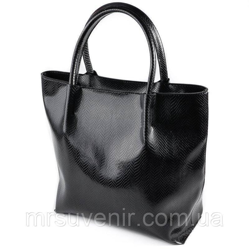 9525977d003c Женская черная сумка под питона код 15-178, цена 703,40 грн., купить ...