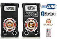 Колонки USBFM-601K-DT (USB/FM/Bluetooth/Радио), фото 1