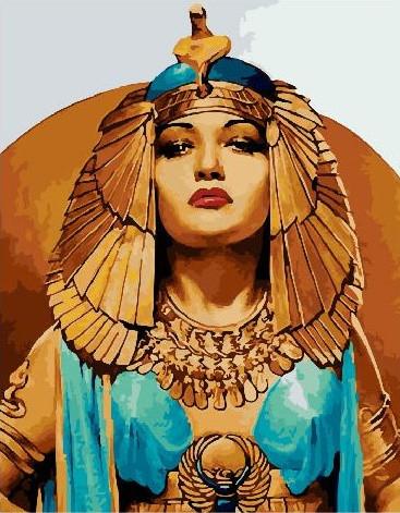 Картина по номерам Клеопатра, 40x50 см., Brushme