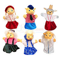 Перчаточные куклы. Набор к сказке «Сестрица Аленушка и братец Иванушка»