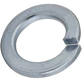Шайба пружинна (гровер) M18 DIN 7980 оцинкована, фото 2