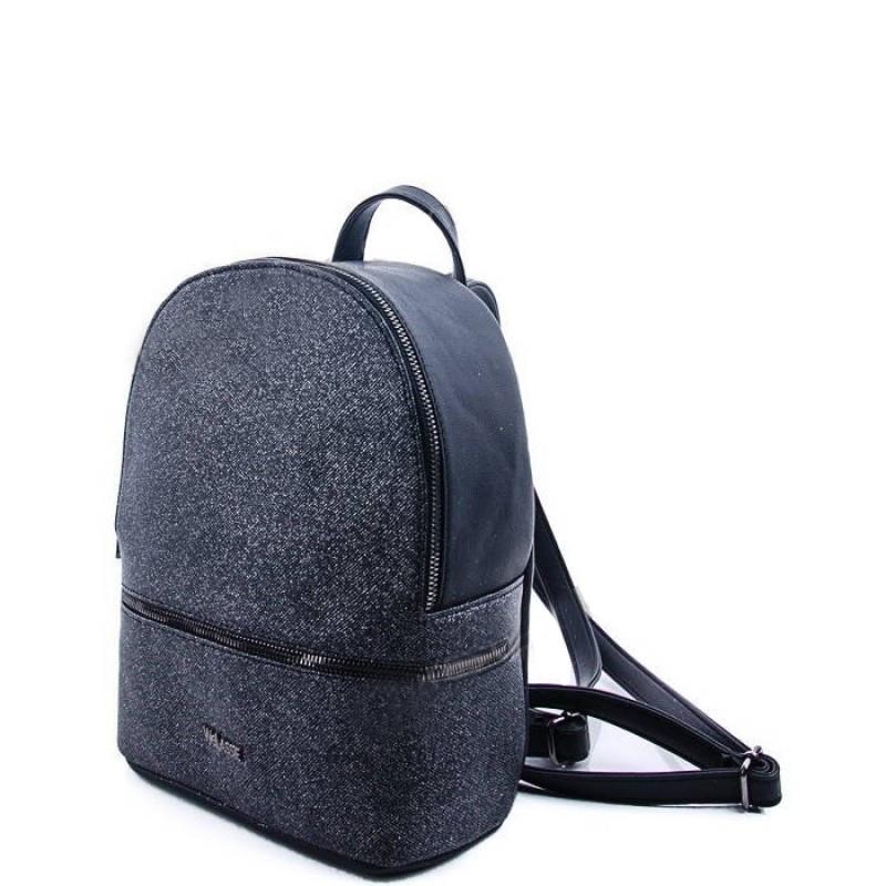 Молодежный рюкзак WeLassie 45302, черный блеск