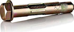 Анкер 12x80/M10 с кожухом и болтом SRTB желтый цинк, фото 2