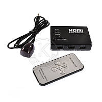 HUB HDMI Switch SY-301 5in1+Remote black