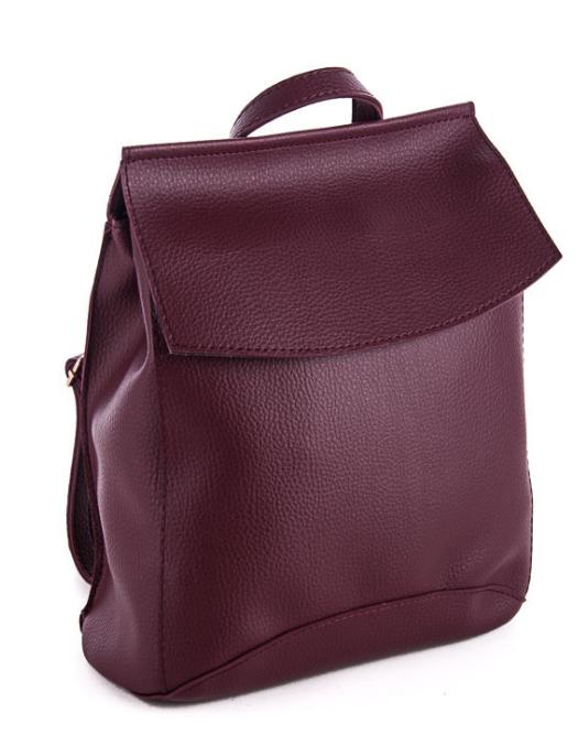 Молодежный сумка-рюкзак WeLassie 44204, бордовый