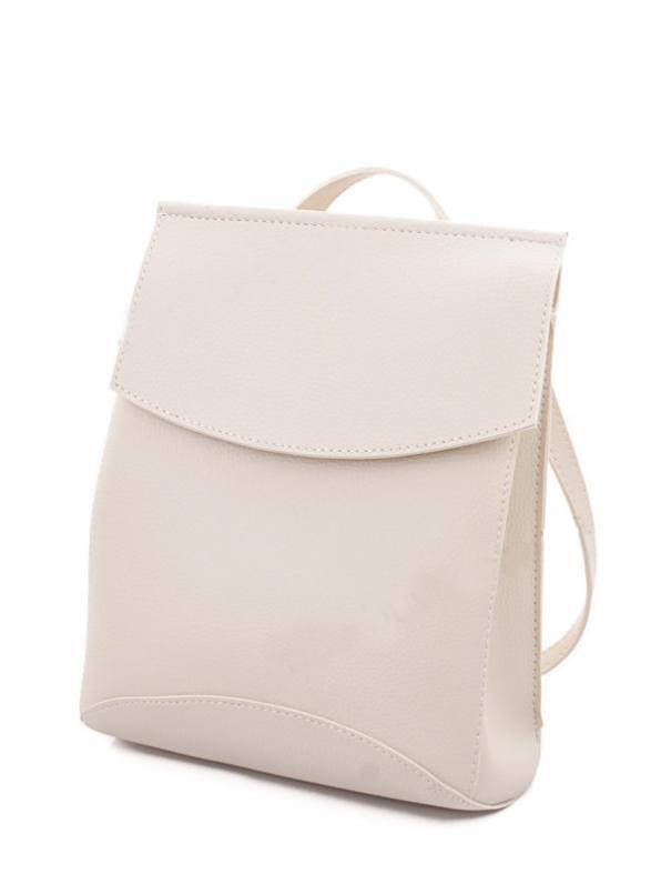 Молодежный сумка-рюкзак WeLassie 44209, бежевый