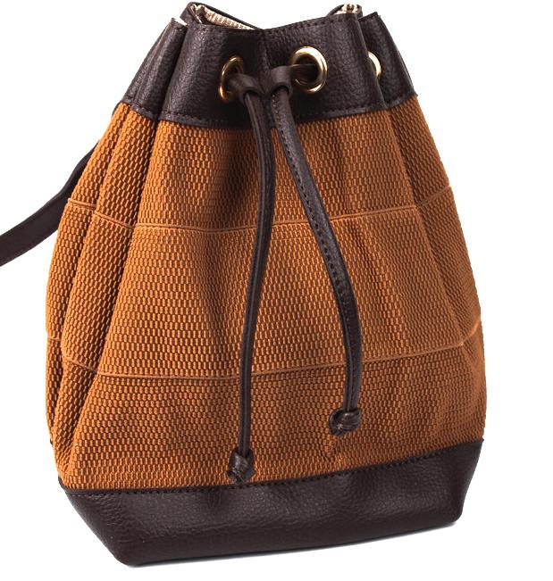 Молодежный сумка-рюкзак WeLassie 44501, коричневый