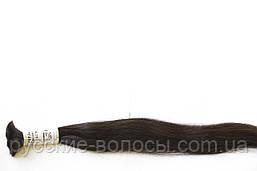 Волосы славянские темные премиум+ волнистые.