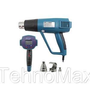 Термофен ZD-510 c дисплеем, два режима, max-1500W, 650°C