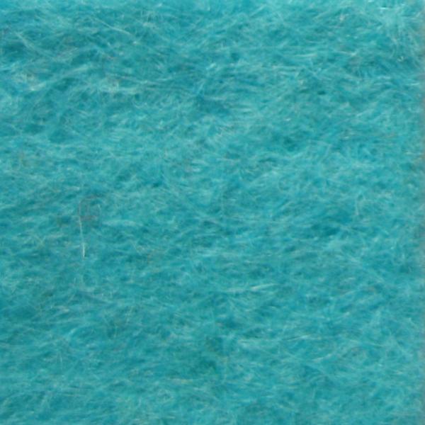 Фетр натуральный 1.3 мм, 20x30 см, БИРЮЗОВЫЙ