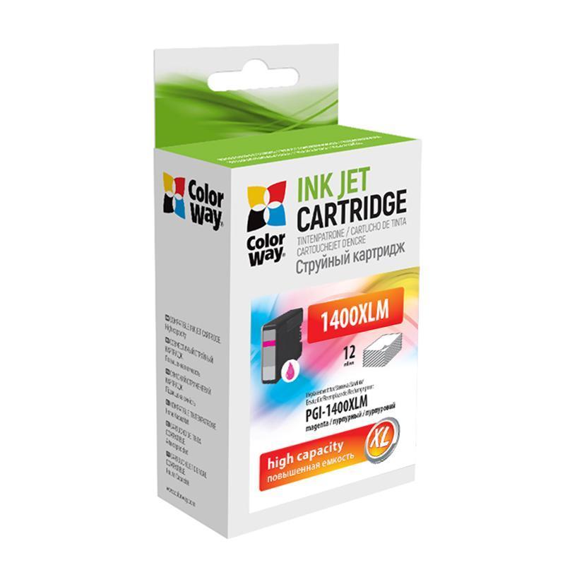 Картридж CW (CW-PGI-1400XLM) Canon MB2040/2340 Magenta (аналог 9203B001)