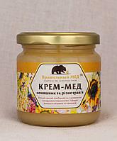 Крем-Мёд Цветочный. Мед-Суфле. Взбитый Мед. ТМ Парвильный Мед, фото 1