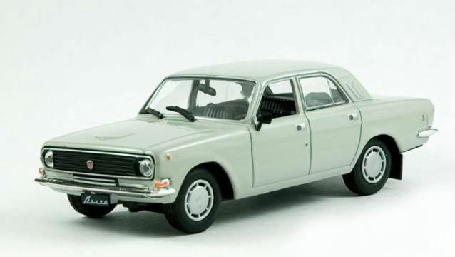 Модель Автолегенды Лучшее (DeAgostini)№51ГАЗ-24-10 Волга(1:43)