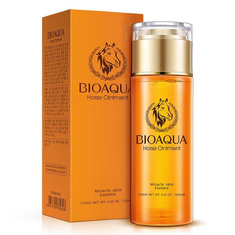 Питательный тонер для лица с лошадиным жиром Bioaqua Horse Oil Ointment, 120мл