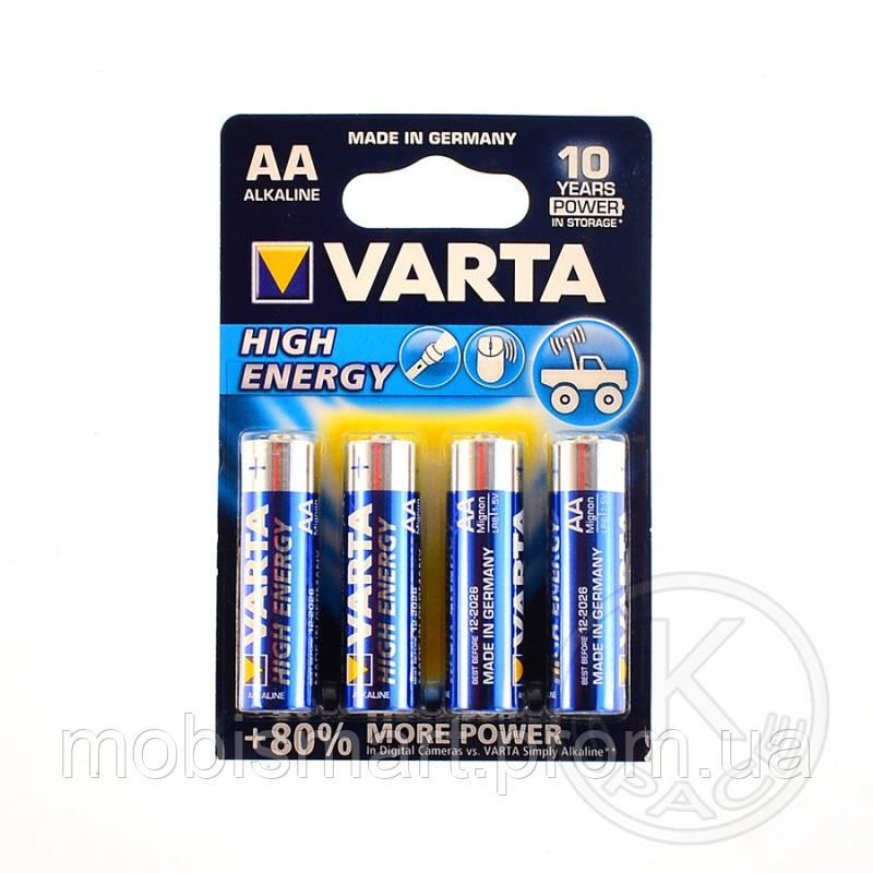 Батарейка VARTA HIGH Energy AA BLI 4 ALKALINE