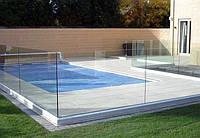 Ограждения для бассейнов из стекла, стеклянные перила и поручни для бассейна, забор в бассейн, фурнитура нерж