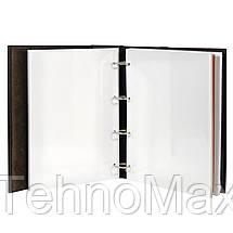 """Кожаный Фотоальбом """"Ромб"""" на магнитных листах, фото 2"""