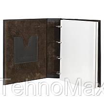 """Кожаный Фотоальбом """"Ромб"""" на магнитных листах, фото 3"""