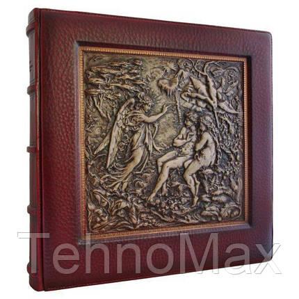 Фотоальбом «Эдемов сад» в кожаном переплете, фото 2
