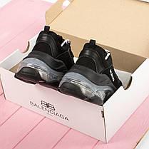 Новинка! Женские кроссовки в стиле Balenciaga Triple S Clear Sole Black (36, 37, 38, 39, 40 размеры), фото 3