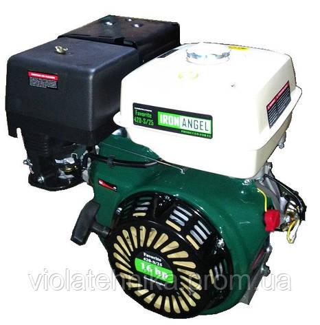 Двигатель бензиновый Iron Angel FAVORITE 420-S/25, фото 2