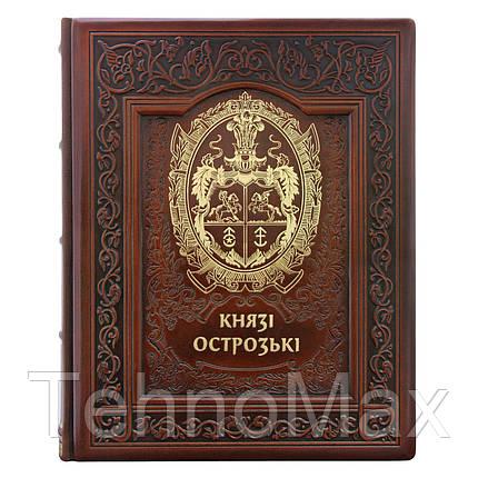 """Кожаная книга """"Князья Острожские"""", фото 2"""
