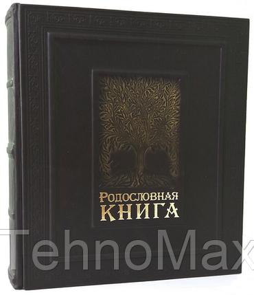 Элитная книга в коже Родословная книга МАКЕЙ семейная летопись, фото 2